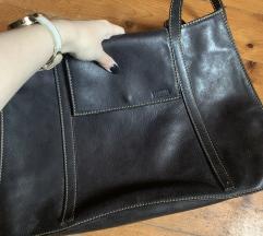 Kozna crna torba merkur