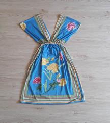 Šarena haljina u japanskom stilu