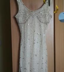 Bershka sequin haljina