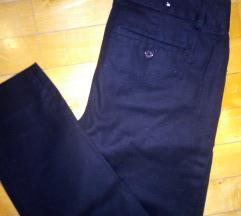 Crne 7/8 nove business pantalone XS/S