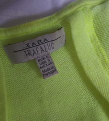 ZARA neon zuta majica