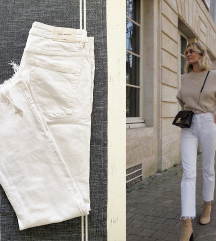 ZARA bele pantalone