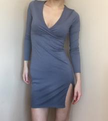 Kratka plava haljina   H&M