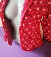 Crveni dzemper - sako