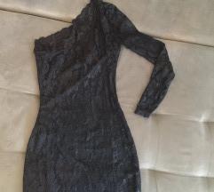Cipkana haljina na jedno rame