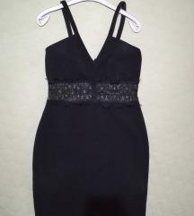 Mala crna haljina sa čipkom