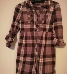 H&M haljina tunika kosulja