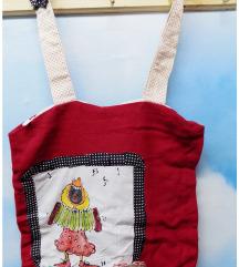 Handmade MISH crvena torba
