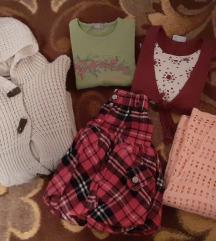 Lot stvari za devojcicu od 6 godina