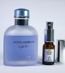 D&G Light Blue Eau Intense - Dekant 5/10/20ml