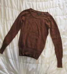 47. Marx džemper braon sa braon cirkonima