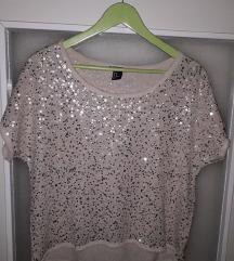 H&M bez bluza sa sljokicama snizeno