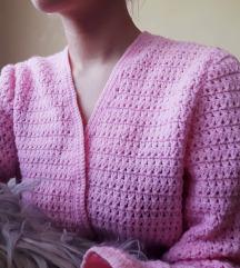 VRLO MEKAN ručno pleten džemper jarke boje
