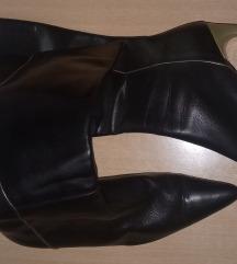 Ženske italijanske kožne čizme br.39