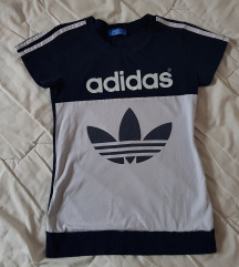 Adidas original zenska majica teget plava