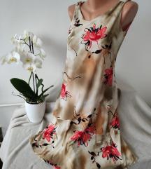 Viskozna haljina floral print vel S/M