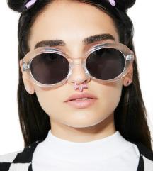 Ovalne providne vintage naočare