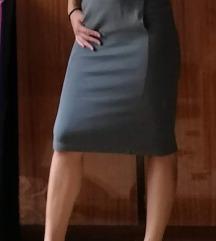 Duboki struk, dzepovi, pamuk - moderna suknja