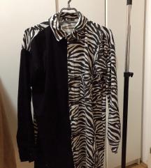 MISSGUIDED zebra kosulja✨