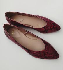 RezzH&M snake crvene cipele NOVO