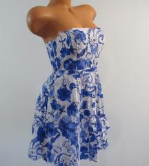 H & M top haljina vel. 38