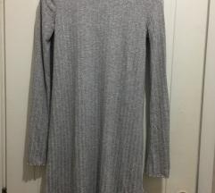 Rolka haljina siva