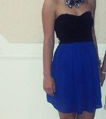 Top haljinica  crno plava