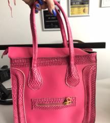 pink celine torba kao nova