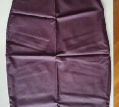 Novo sa etiketom suknja kao kožna