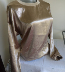 Amisu zlatna bluza S/M