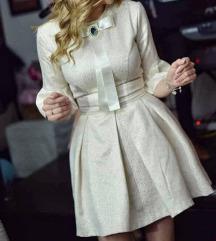 Prelepa haljina od brokata SNIZENA