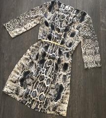 Snakeprint letnja haljina