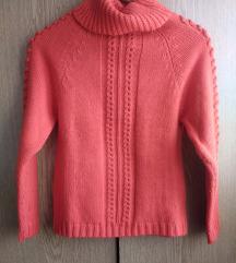 Narandžasti džemper rolka