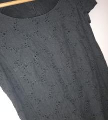 esprit crna pamucna  haljina