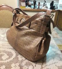 Original SALAMANDER torba u boji konjaka NOVA