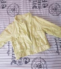 Žuta teksas prolećna jaknica