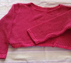 Kratka roze bluzica