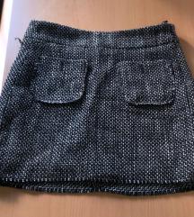 Mini suknja tvidi