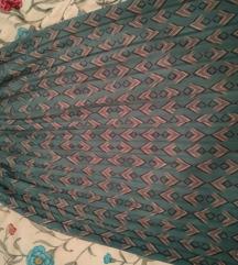 Vintage suknja s visokim strukom