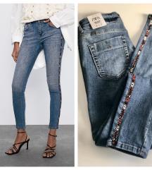 Zara mid rise skinny jeans✨NOVO