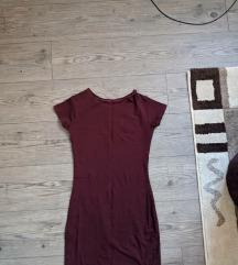 Borda pamučna haljina