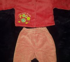 Baby club komplet termo jaknica i pantalone, 62
