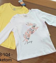 Dve majice za devojčice br. 98 - 104 - NOVO