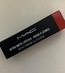 MAC - retro matte lipstick NOVO