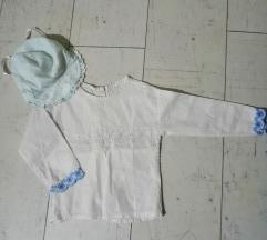 Košuljica sa čipkom za bebe