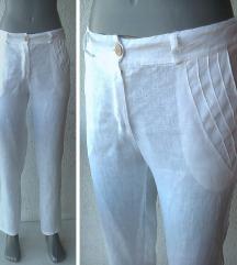 bele letnje pantalone broj S Italy