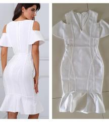Atraktivna bela haljina