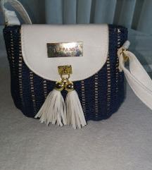 Tifany čvrsta pletena torbica
