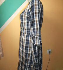 Karo flanelska tunika ili haljina