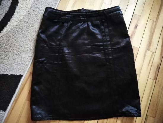 Crna Jensen satenska suknja